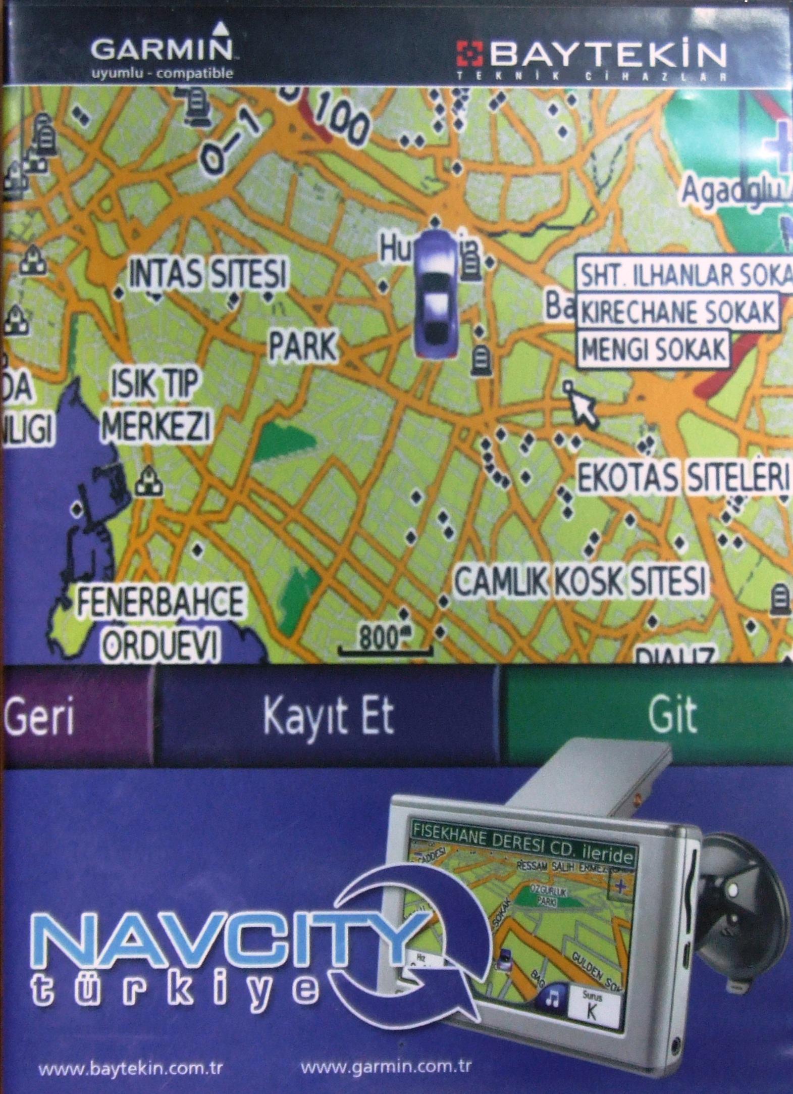 Garmin Karta Navcity Turkiye Turska Rutabilne Karte Beograd